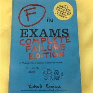 F in Exams Complete Failure Edition Book